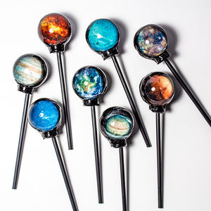 Set Of Eight Planet Lollipops - sweets