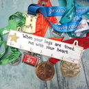 Personalised Wooden Medal Hanger/Holder