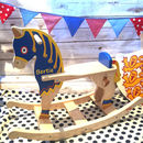 Brave Knights Or Princess Rocking Horse