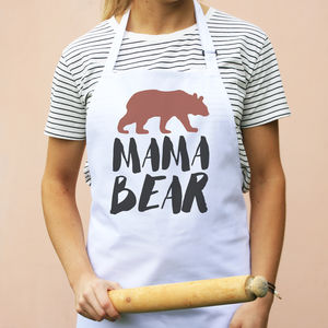 Mama Bear Apron - kitchen