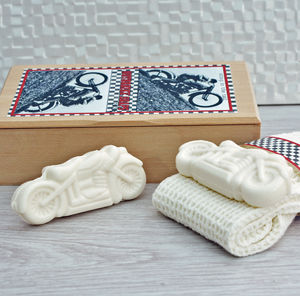 Set Of Motorbike Soaps - men's grooming & toiletries