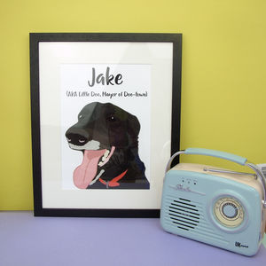 Bespoke Pet Portrait Personalised