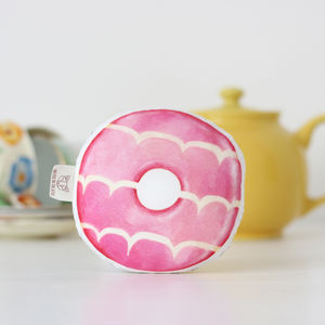 Biscuit Baby Rattle Party Ring - rattles & teethers