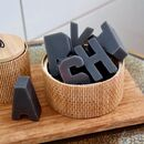 Letter Shaped Soaps