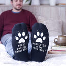 Personalised Daddy Bear Paw Socks
