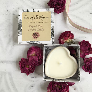 Rose Scented Candle Stocking Filler