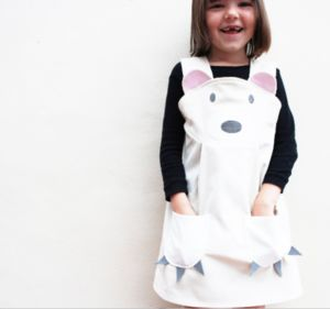 Polar Bear Girls Dress Up Costume