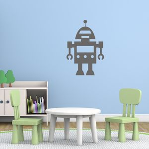 Robot Kids Wall Decal
