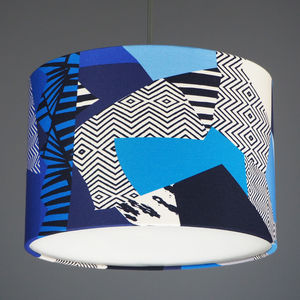 Kitty Mc Call Matisse Fabric Lampshade - lampshades