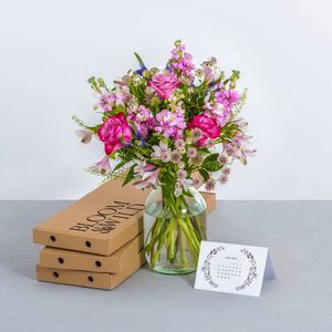 One Year Letterbox Flower Subscription - alternative flowers & chocolates