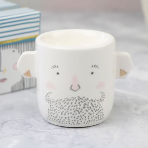 'Over The Moon' Gent And Lady Egg Cup - egg cups & cosies