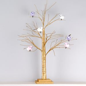 Rose Gold Easter Tree - easter decorations
