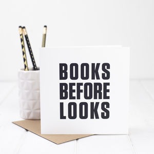 Funny Card For Book Lover