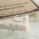 Frankenstein Lightning Bolt Ring