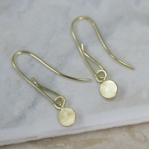 18ct Gold 'Sun' Earrings - new in jewellery