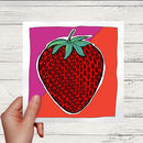 Strawberry Greetings Card