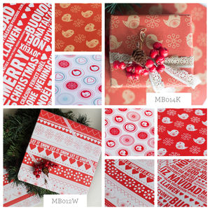 10 X Sheets Best Selling Assorted Christmas Giftwrap - wrapping