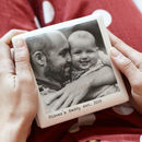 Father and baby keepsake box