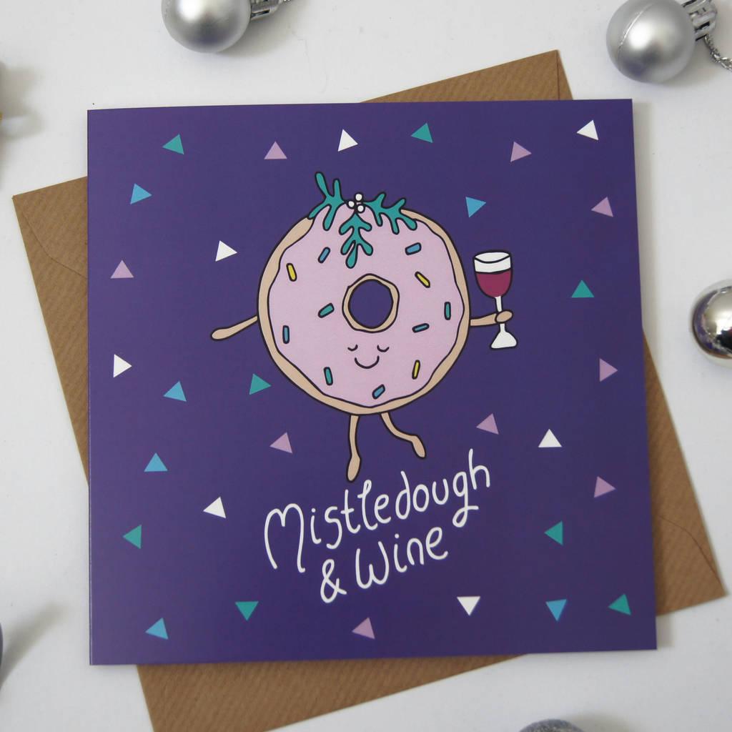 Funny Doughnut Christmas Card