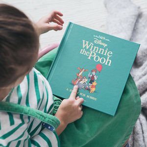 Personalised Timeless Winnie The Pooh Book - new baby gifts