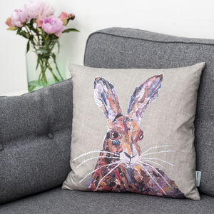 Hare Cushion