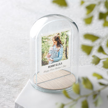 Floating Photo Glass Dome