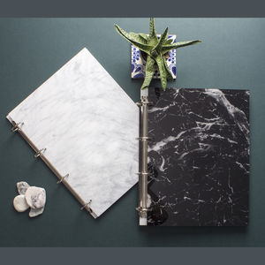 Marble Personalised Ringbinder Portfolio Folder A4/A3