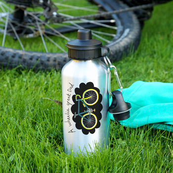 Wheelie Great Dad Sports Bottle