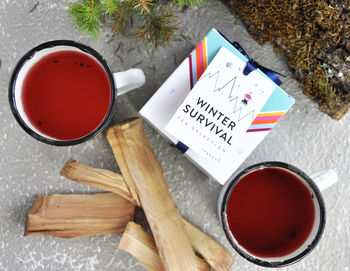Winter Survival Tea Selection