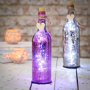 Sparkle Light Up Firefly Bottles