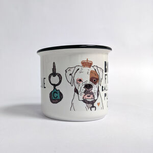 Personalised Dog Breed Illustration Mug