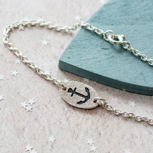 Silver Anchor Bracelet - what's new