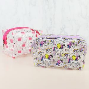 Colourful Print Cosmetic Bag