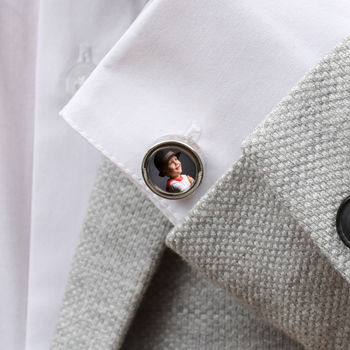 Personalised Secret Message Photo Cufflinks