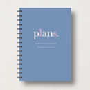 Personalised Home Or Work Planner Or Journal
