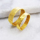 Gold His & Hers Rings