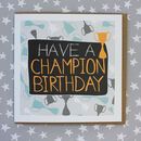Champion Birthday Card