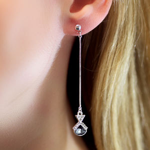 Art Deco Stiletto Earrings - on trend: earrings