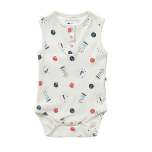Nautical Baby Bodysuit - clothing