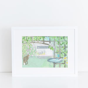 Garden Animals Child's Bedroom Print
