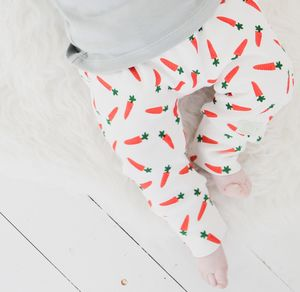 Carrot Organic Cotton Harem Pants - trousers & leggings