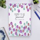 Personalised Mummy To Be Journal Notebook