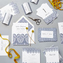 Indian Summer Wedding Stationery Sample Pack