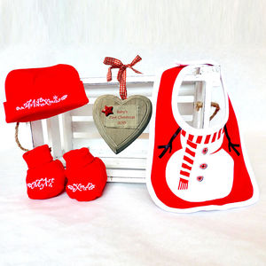 Personalised Baby's First Christmas Gift Box