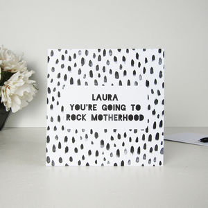 You're Going To Rock Motherhood New Mum Card - new baby & christening cards