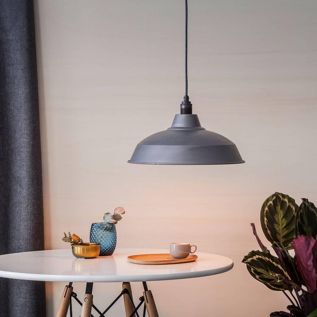 Raw Steel Industrial Lamp Shade
