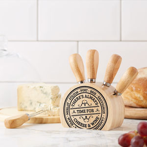 Gourmet Cheese Knife Block - home sale