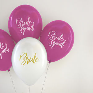 Bride Squad Balloon Pack