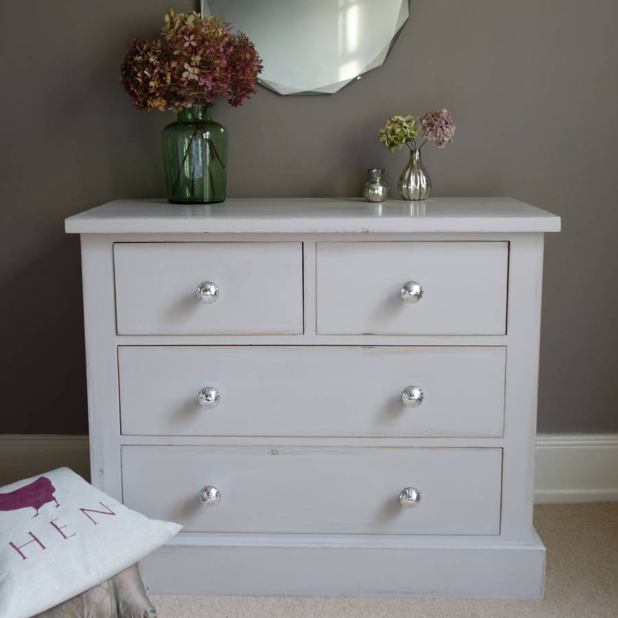 Chest Of Drawers Hand Painted Any Colour By Rectory Blue
