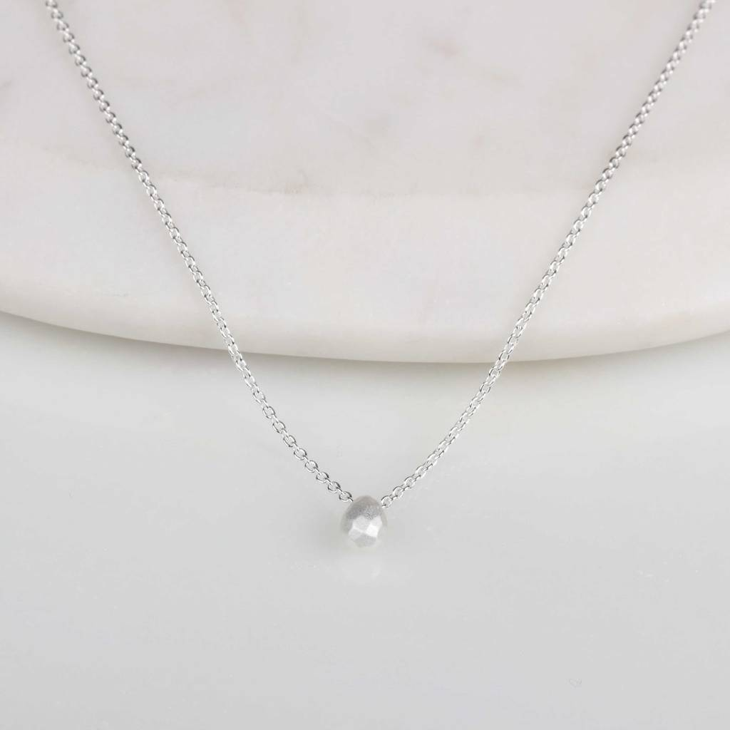 pendant jewelry necklaces perettiteardrop in tiffany silver pendants peretti co teardrop sterling necklace elsa ed